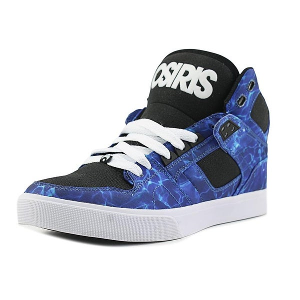 Osiris NYC 83 VLC Men Round Toe Canvas Blue Skate Shoe