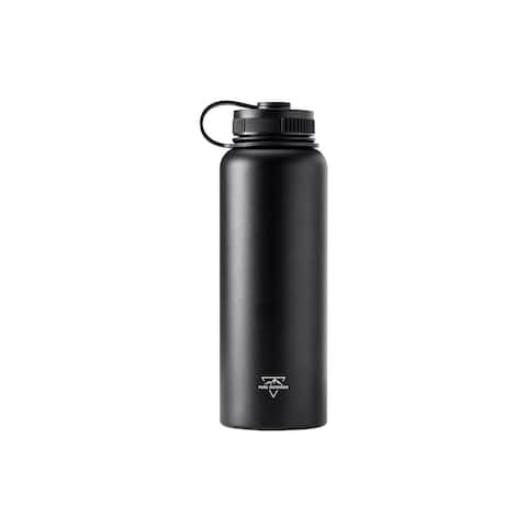Monoprice Vacuum Sealed 40 fl. oz. Wide-Mouth Water Bottle - Pure Outdoor
