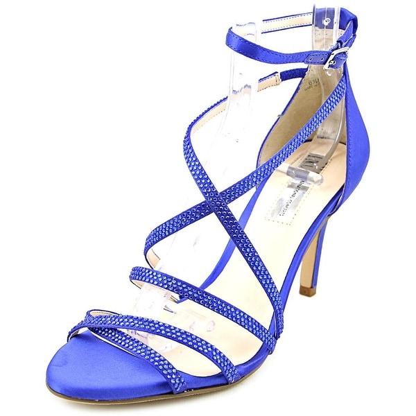 INC International Concepts Gemm 2 Women Open Toe Synthetic Blue Sandals