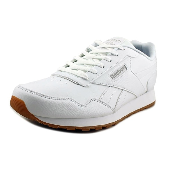 Shop Reebok CL Harman Run Men Round Toe Leather White Sneakers ... c44facb05