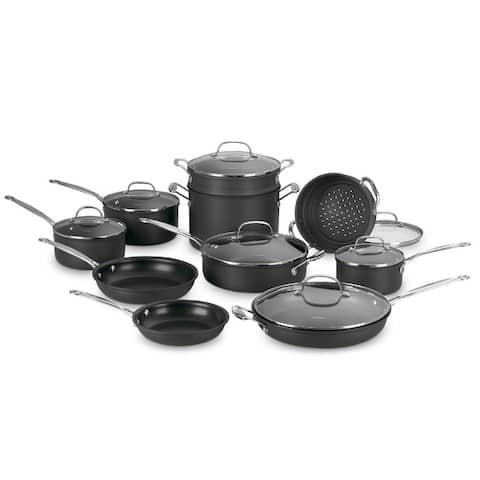 Cuisinart 66-17 Chefs Classic Nonstick 17-piece Cookware Set