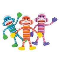 Sock Monkey Bendables