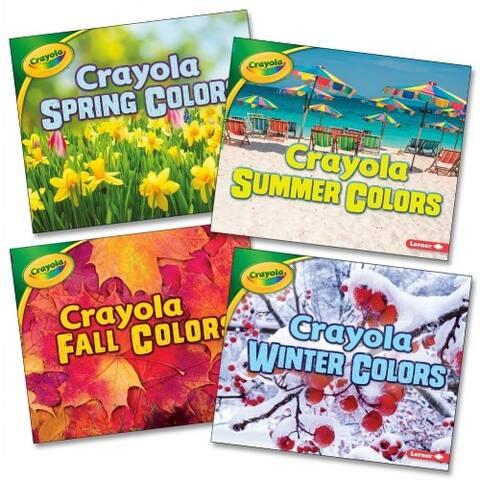 Crayola Seasons Book Set (Set of 4) - Paperback