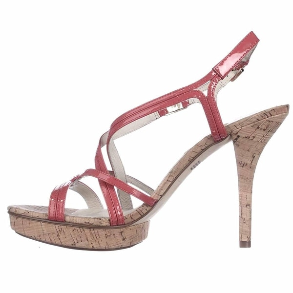 Michael Kors Womens Cicely Open Toe Special Occasion Ankle Strap Sandals