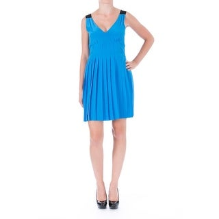 Marc by Marc Jacobs Womens Cocktail Dress Silk Sleeveless