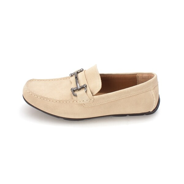 Alfani Womens James Leather Square Toe Loafers - 7.5