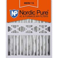 Nordic Pure 16x20x5 Honeywell Replacement Pleated MERV 15 Qty 1