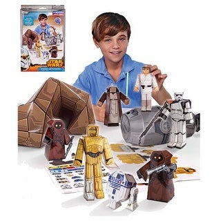 Star Wars Blueprints Papercraft: Droids On Tatooine Desert Pack - multi