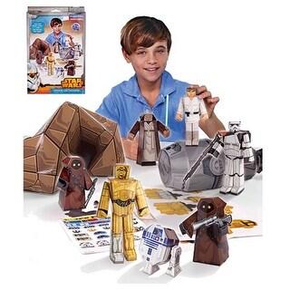 Star Wars Blueprints Papercraft: Droids On Tatooine Desert Pack