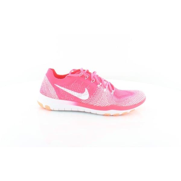 online retailer ca271 0b6c2 Shop Nike Free Focus Women's Athletic RacPin/Whi - 7.5 ...