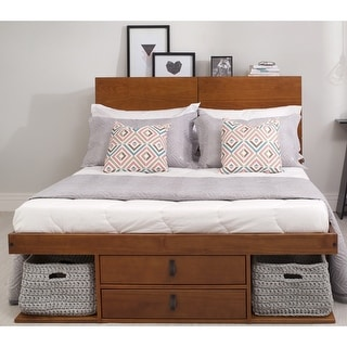 Link to Copper Grove Rivne Storage Platform Bed with Drawers Similar Items in Bedroom Furniture