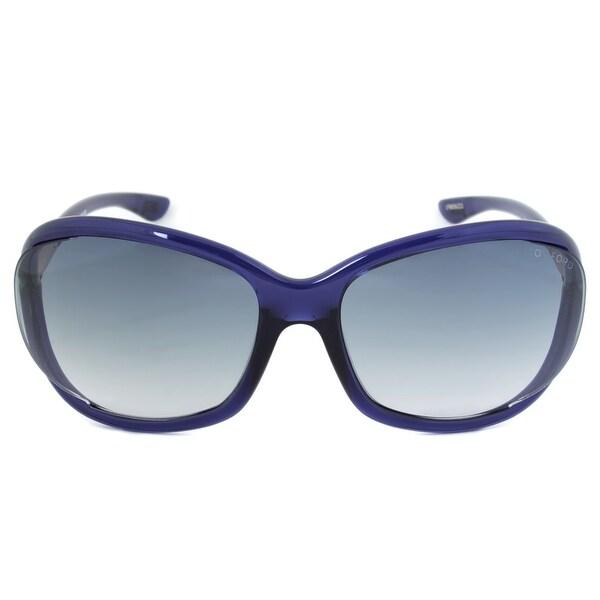 392fc04c8e9 Shop Tom Ford Jennifer Sunglasses FT0008 90W - On Sale - Free ...