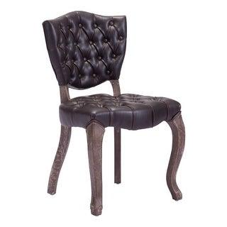 Zuo Modern Leavenworth Dining Chair Leavenworth Oak Dining Chair (Package of 2) - Brown