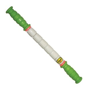 The Stick Little Stick - 14 Inches - Standard Flexibility With Green Handles - Therapeutic Body Massage Stick - Potentia
