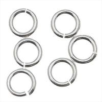 Silver Filled Open Jump Rings 5mm 18 Gauge (10)