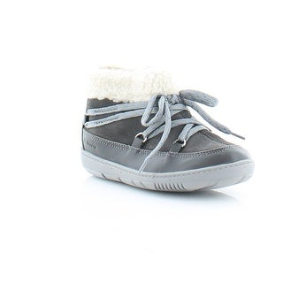 Clarks Maxi Moon FST Toddler Girls Boots Grey COMBI