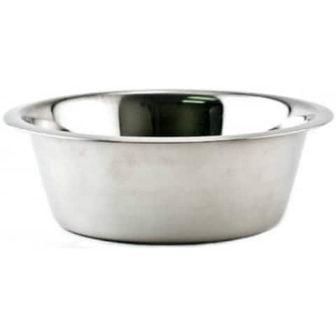 Ruffin' It 15096 Stainless Steel Bowl, 3 Qt