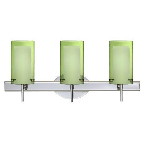 Besa Lighting SWL Pahu Light Reversible Halogen Bathroom - Halogen bathroom vanity lights