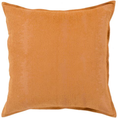 "Carson Carrington Tastebol Orange Throw Pillow Cover (18"" x 18"")"