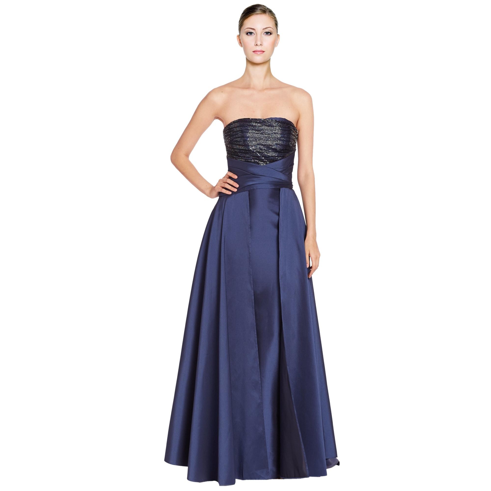 29+ Pamella Roland Blue Dress Gif