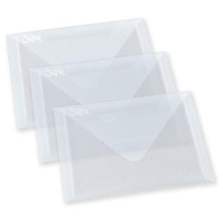 "Sizzix Plastic Envelopes 3/Pkg-6.875""X5"""