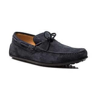 Tod's Men's Suede Driving Shoes Navy Blue