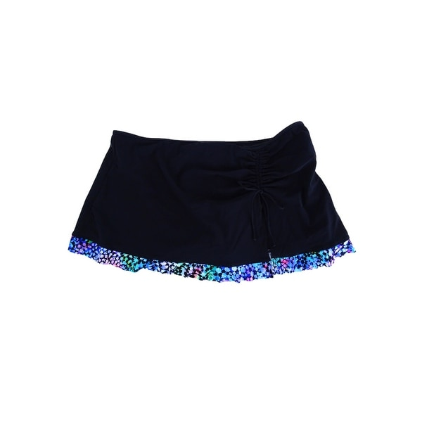 5c143532f Shop Profile by Gottex Women's Paradise Bay Swim Skirt (12, Navy) - Black -  12 - On Sale - Free Shipping Today - Overstock.com - 22165224