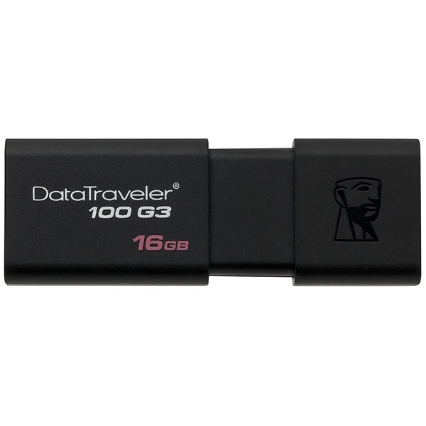 Kingston Digital 16Gb 100 G3 Usb 3.0 Datatraveler (Dt100g3/16Gb)