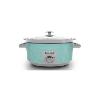 Applica - Sc2007d - Bd 7Qt Slow Cooker Teal Wave