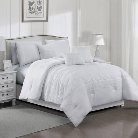 Porch & Den Tamar Microfiber 7-piece Comforter Set