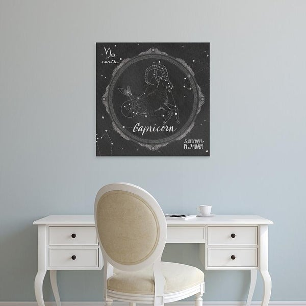 Easy Art Prints Sara Zieve Miller's 'Night Sky Capricorn' Premium Canvas Art