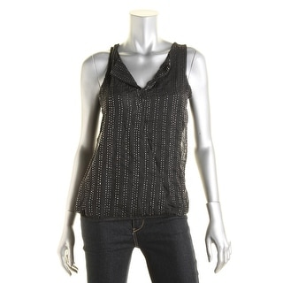 Jessica Simpson Womens Juniors Alicia Tank Top Beaded Sleeveless - S