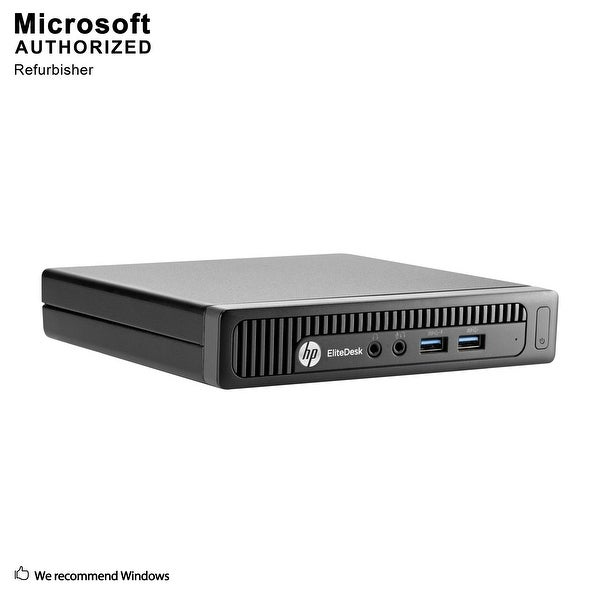 HP EliteDesk 705G1 Desk Mini AMD A8 Pro-7600B 3.10GHz, 8GB RAM, 500GB HDD WIFI, BT 4.0, WIN10P64(EN/ES)