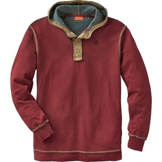 Legendary Whitetails Men's Eliminator Hooded Pullover Henley
