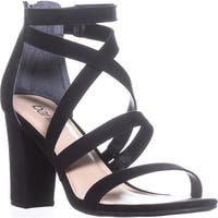 B35 Blythe Strappy Sandals, Black