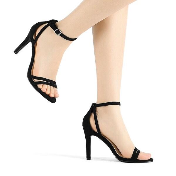 Ankle Strap Stiletto High Heel Sandals