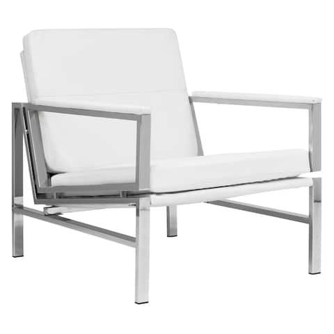 Strick & Bolton Regina Leather Chair