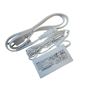 New Acer Chromebook C720 C720P White Laptop Ac Adapter Charger & Cord