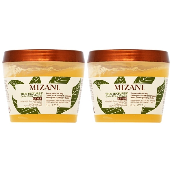Mizani True Textures Twist and Coil Jelly 8 oz (Pack of 2). Opens flyout.