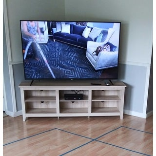 """70"""" TV Stand Console - 70 x 16 x 24h"""