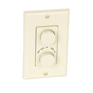 NuTone 79V 4-Speed Fan Control - Ivory