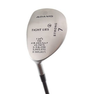 New Adams Tight Lies Strong 7-Wood 24* Firm Flex LEFT HANDED