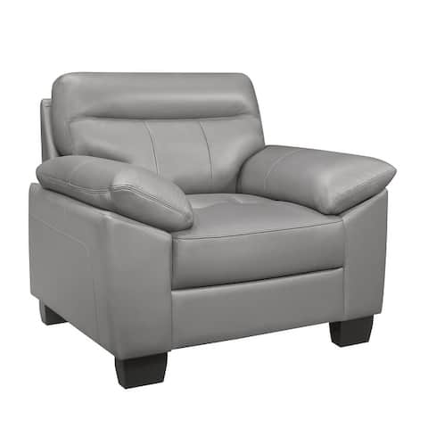 Brun Leather Chair