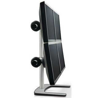 Atdec Vfs-Q Quad Freestanding Desk Monitor Mount (Supports Four Displays Up To 27″) With Horizontal Or Vertical Orientat