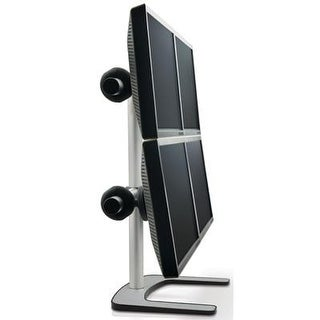 Atdec Vfs-Q Quad Freestanding Desk Monitor Mount (Supports Four Displays Up To 27) With Horizontal Or Vertical Orientat