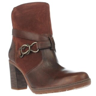 Timberland Dennett Western Buckle Ankle Boots, Brown