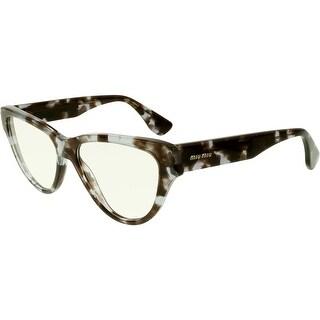Miu Miu Women's MU10NV-UAH1O1-54 Tortoiseshell Butterfly Sunglasses