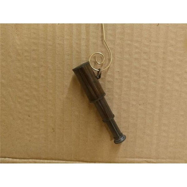 5 in. Oil-Rubbed Bronze Telescope Christmas Ornament - Free Shipping ...