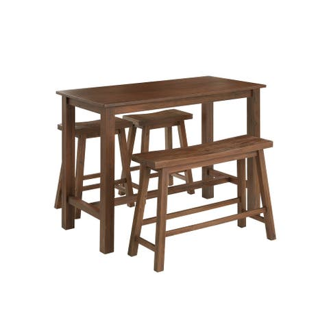 Sonoma Wood 4-piece Pub Set with Table