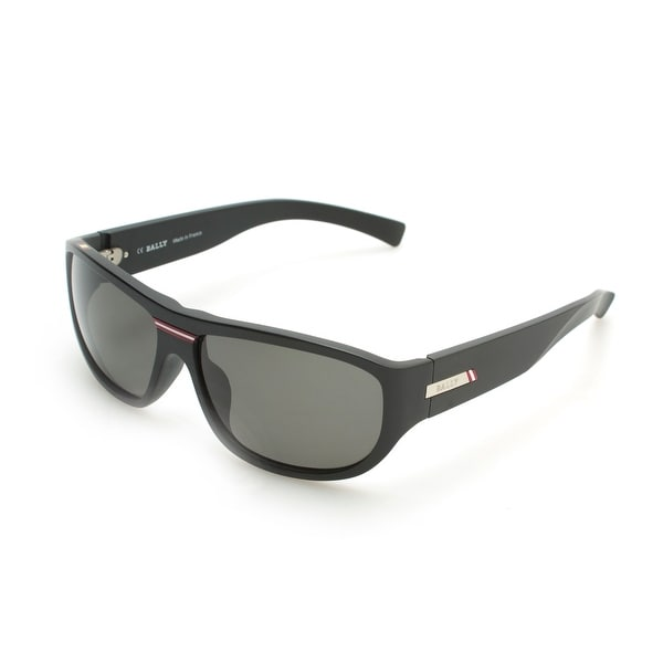 570bdb3148f Shop Bally Men s Oval Frame Sunglasses Black - Free Shipping Today -  Overstock - 21155850